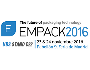 United Barcode Systems es expositor oficial en Empack Madrid 2016