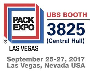 United Barcode Systems es expositor oficial en Pack Expo Las Vegas 2017 (Nevada - USA)