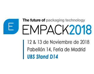United Barcode Systems es expositor oficial en Empack Madrid 2018
